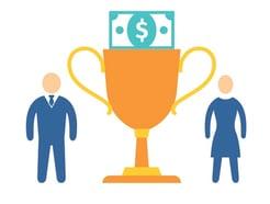 Rewarding Employees Icon