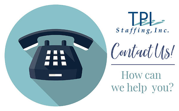 TPI Staffing Contact Us Page copy