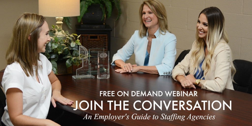 join the conversation sign up today for tpi staffing free on demand webinar, an employer's guide to staffing, basics