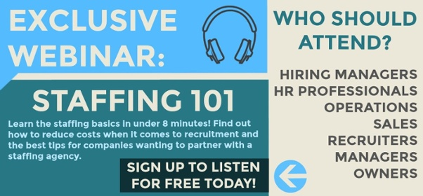 sign up to listen to the exclusive webinar, staffing basics, on demand webinar hosted by tpi staffing, for hiring managers, recruiters, listen for free today
